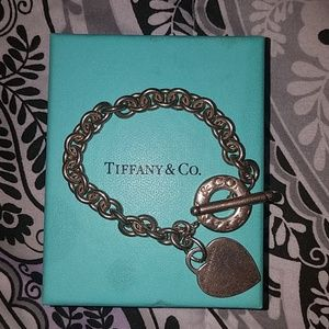 Tiffany's Heart Toggle Bracelet